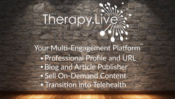 Therapy Live's multi-engagement platform features