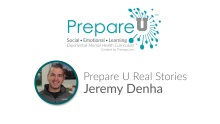 Prepare U by Therapy Live -Teacher - Jeremy Denha Share's His Story Video