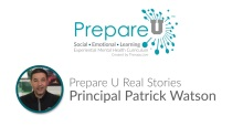 Prepare U by Therapy Live - Principal Patrick Watson's Story Video